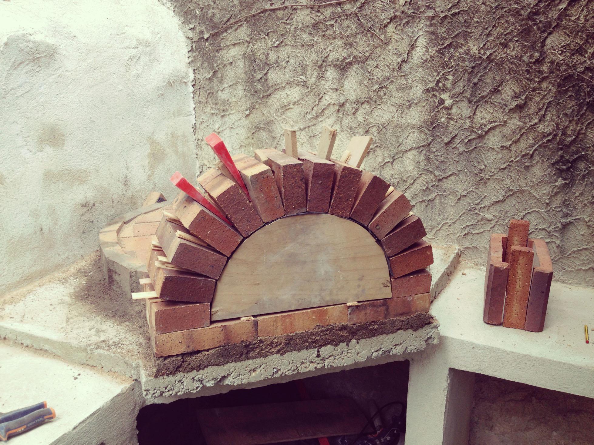 Construire Four à Pizza Bois Maison
