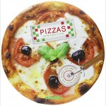 Pizzas, 100% made in Italy