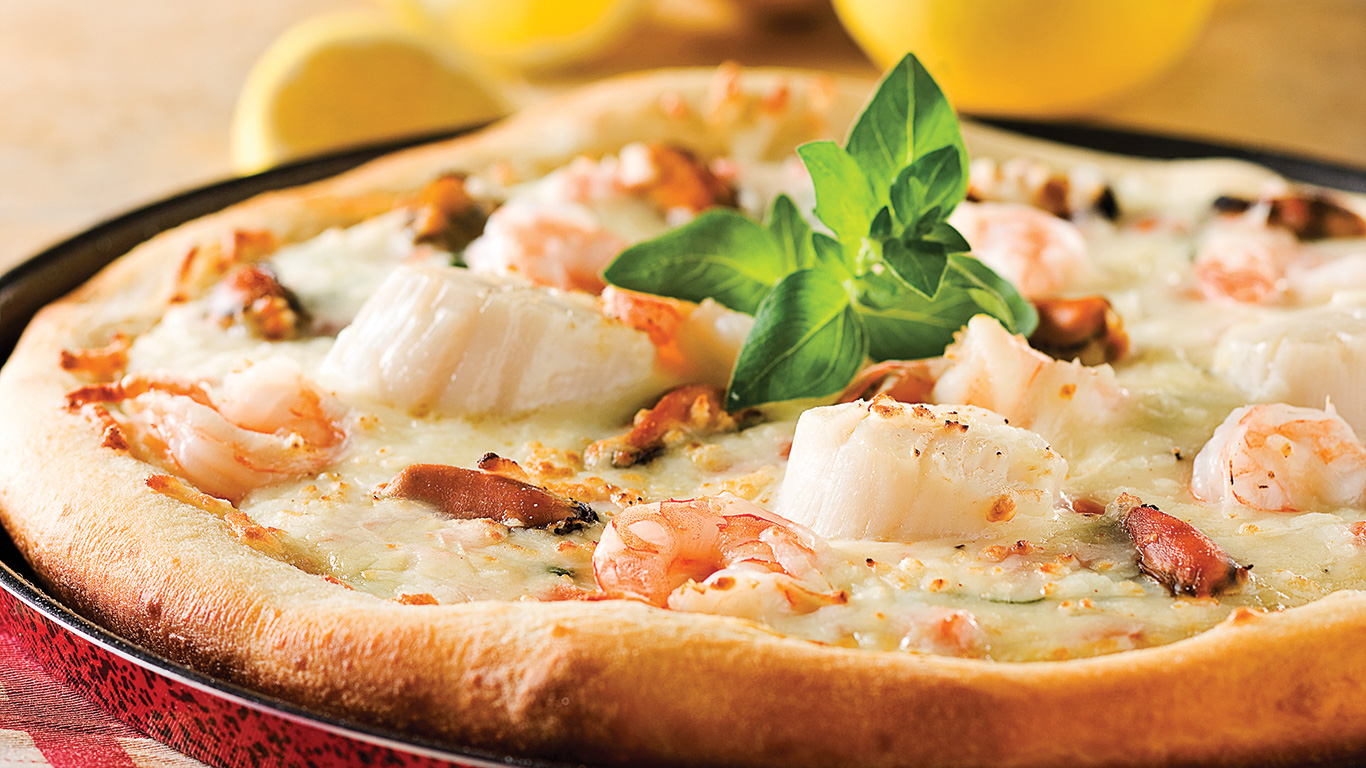 pizza aux fruits de mer recette pizza
