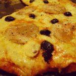 Pizza foie gras, poire et Mozza !
