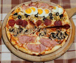Pizza capricieuse