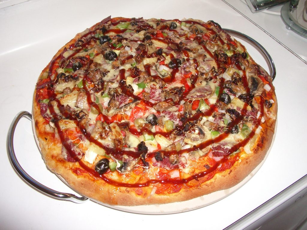 pizza sauce barbecue - recette pizza