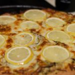 Pizza au citron