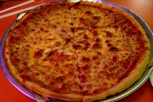 Pizza à la bolognaise