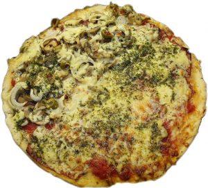 Pizza aux figues