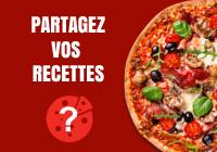 Partage recette pizza