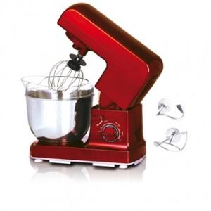 Robot pétrin rouge Kitchencook 600K
