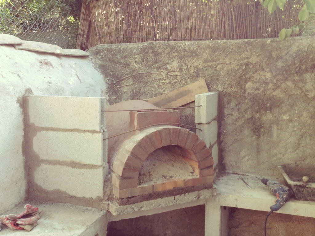 Construire four pizza bois maison for Four pizza exterieur