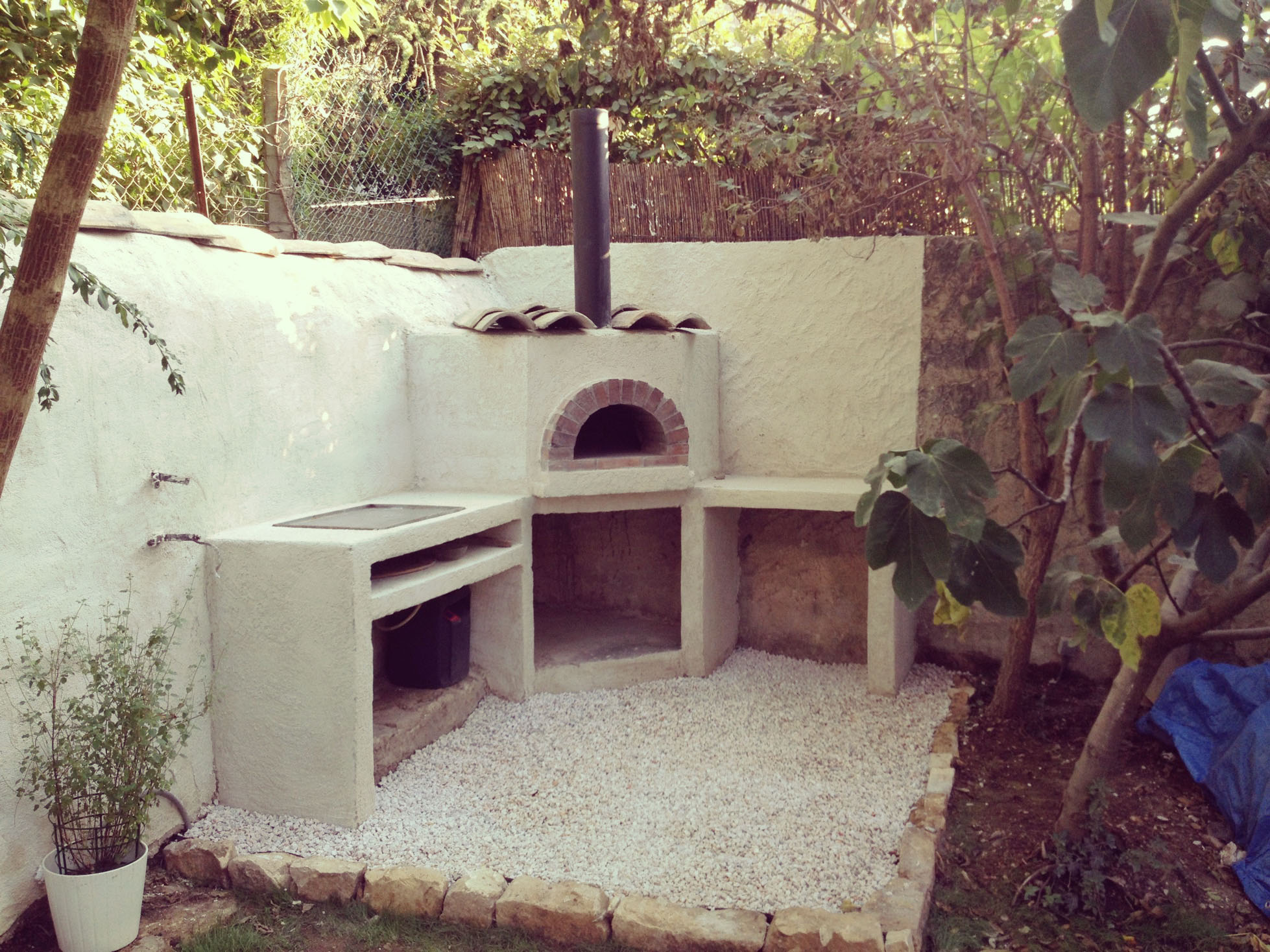 Four À Pizza Extérieur construire four à pizza / bois maison