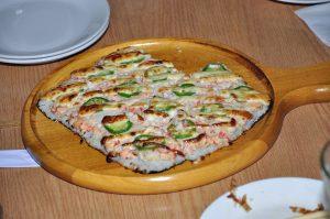 Pizza chinoise