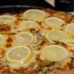 Pizza au citron