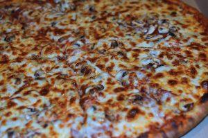 Pizza sucrée salée