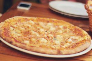 Pizza au coco